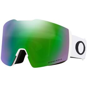 Oakley Fall Line XL Snow Goggles Herre matte white/prizm jade iridium